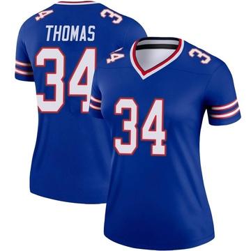 Women's Nike Buffalo Bills Thurman Thomas Royal Jersey - Legend