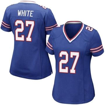 Women's Nike Buffalo Bills Tre'Davious White Royal Blue Team Color Jersey - Game