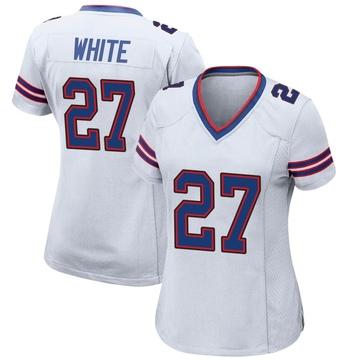 Women's Nike Buffalo Bills Tre'Davious White White Jersey - Game