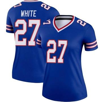 Women's Nike Buffalo Bills Tre'Davious White White Royal Jersey - Legend