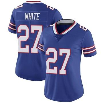 Women's Nike Buffalo Bills Tre'Davious White White Royal Team Color Vapor Untouchable Jersey - Limited