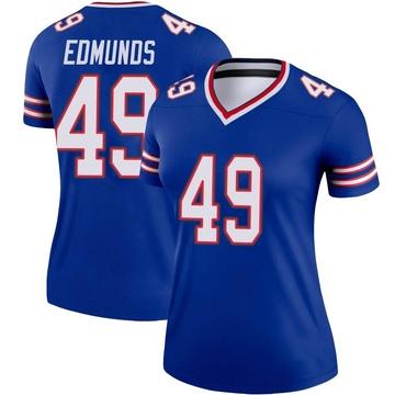 Women's Nike Buffalo Bills Tremaine Edmunds Royal Jersey - Legend