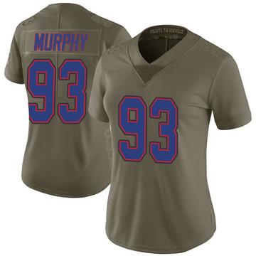 Women's Nike Buffalo Bills Trent Murphy Green 2017 Salute to Service Jersey - Limited