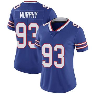 Women's Nike Buffalo Bills Trent Murphy Royal 100th Vapor Jersey - Limited