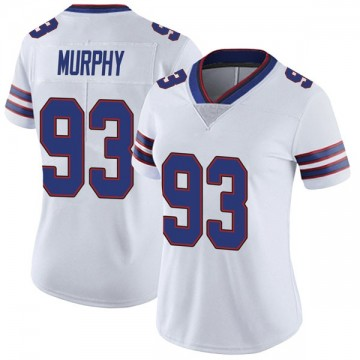 Women's Nike Buffalo Bills Trent Murphy White Color Rush Vapor Untouchable Jersey - Limited