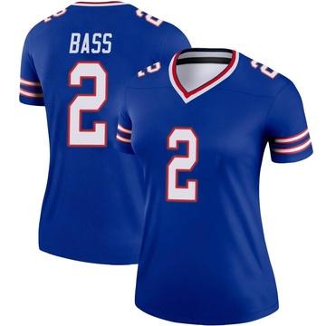 Women's Nike Buffalo Bills Tyler Bass Royal Jersey - Legend