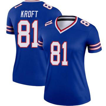 Women's Nike Buffalo Bills Tyler Kroft Royal Jersey - Legend