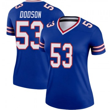 Women's Nike Buffalo Bills Tyrel Dodson Royal Jersey - Legend