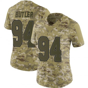 Women's Nike Buffalo Bills Vernon Butler Camo 2018 Salute to Service Jersey - Limited