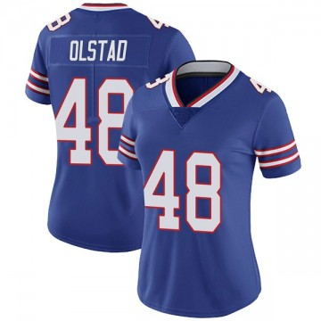 Women's Nike Buffalo Bills Zach Olstad Royal Team Color Vapor Untouchable Jersey - Limited