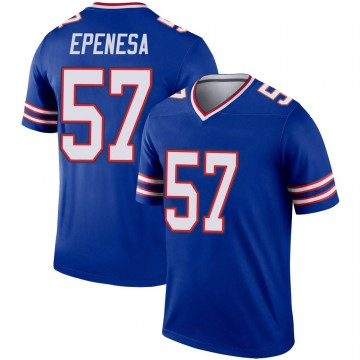Youth Nike Buffalo Bills AJ Epenesa Royal Jersey - Legend