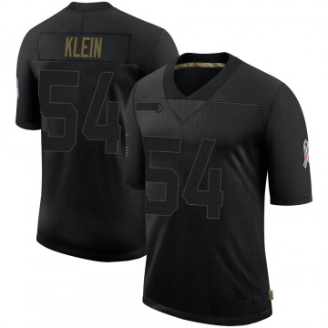 Youth Nike Buffalo Bills A.J. Klein Black 2020 Salute To Service Jersey - Limited