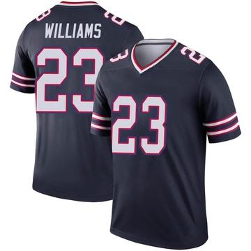 Youth Nike Buffalo Bills Aaron Williams Navy Inverted Jersey - Legend