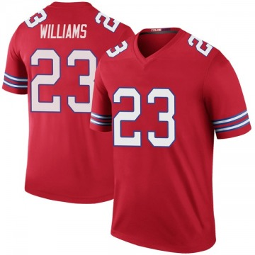 Youth Nike Buffalo Bills Aaron Williams Red Color Rush Jersey - Legend