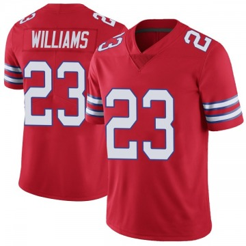 Youth Nike Buffalo Bills Aaron Williams Red Color Rush Vapor Untouchable Jersey - Limited