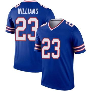 Youth Nike Buffalo Bills Aaron Williams Royal Inverted Jersey - Legend