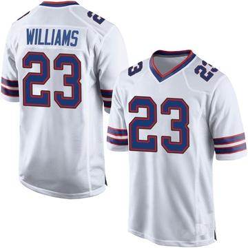 Youth Nike Buffalo Bills Aaron Williams White Jersey - Game