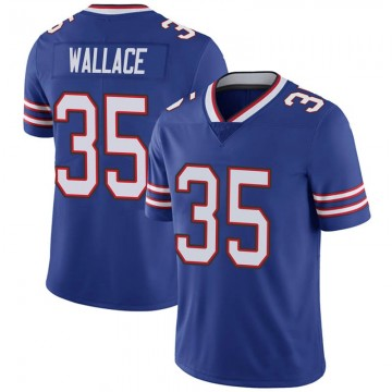Youth Nike Buffalo Bills Abraham Wallace Royal 100th Vapor Jersey - Limited
