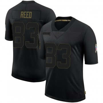 Youth Nike Buffalo Bills Andre Reed Black 2020 Salute To Service Jersey - Limited