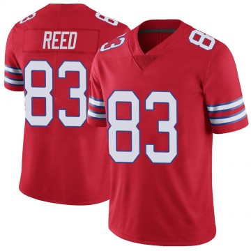Youth Nike Buffalo Bills Andre Reed Red Color Rush Vapor Untouchable Jersey - Limited