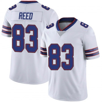 Youth Nike Buffalo Bills Andre Reed White Color Rush Vapor Untouchable Jersey - Limited