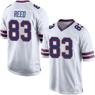 Youth Nike Buffalo Bills Andre Reed White Jersey - Game