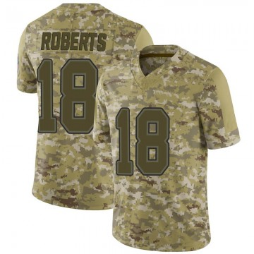 Youth Nike Buffalo Bills Andre Roberts Camo 2018 Salute to Service Jersey - Limited