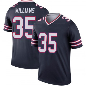 Youth Nike Buffalo Bills Antonio Williams Navy Inverted Jersey - Legend
