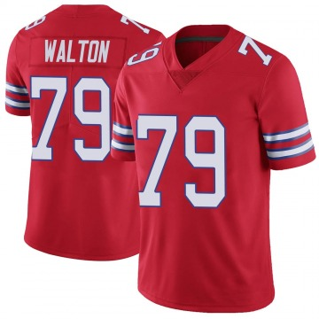 Youth Nike Buffalo Bills Brandon Walton Red Color Rush Vapor Untouchable Jersey - Limited