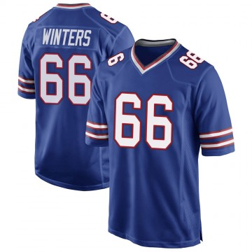 Youth Nike Buffalo Bills Brian Winters Royal Blue Team Color Jersey - Game