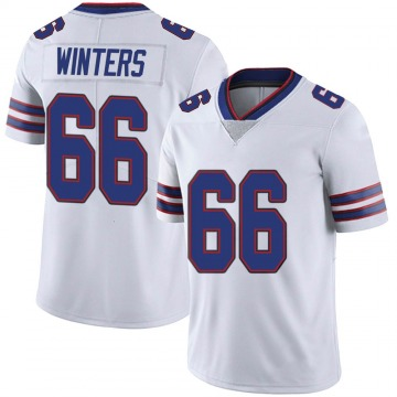 Youth Nike Buffalo Bills Brian Winters White Color Rush Vapor Untouchable Jersey - Limited