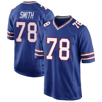 Youth Nike Buffalo Bills Bruce Smith Royal Blue Team Color Jersey - Game