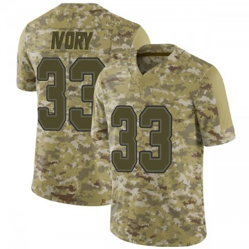 Youth Nike Buffalo Bills Chris Ivory Camo 2018 Salute to Service Jersey - Limited