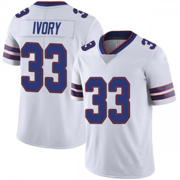 Youth Nike Buffalo Bills Chris Ivory White Color Rush Vapor Untouchable Jersey - Limited
