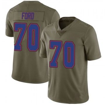 Youth Nike Buffalo Bills Cody Ford Green 2017 Salute to Service Jersey - Limited