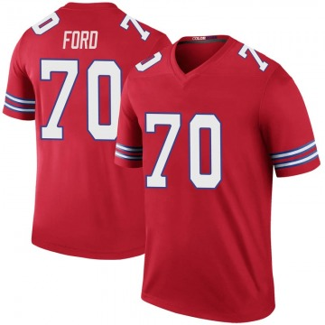 Youth Nike Buffalo Bills Cody Ford Red Color Rush Jersey - Legend
