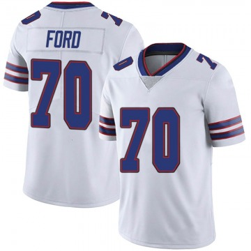 Youth Nike Buffalo Bills Cody Ford White Color Rush Vapor Untouchable Jersey - Limited