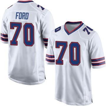 Youth Nike Buffalo Bills Cody Ford White Jersey - Game