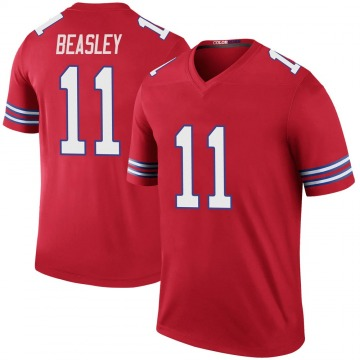 Youth Nike Buffalo Bills Cole Beasley Red Color Rush Jersey - Legend