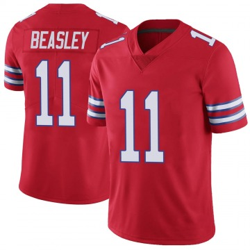 Youth Nike Buffalo Bills Cole Beasley Red Color Rush Vapor Untouchable Jersey - Limited