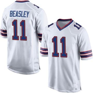 Youth Nike Buffalo Bills Cole Beasley White Jersey - Game