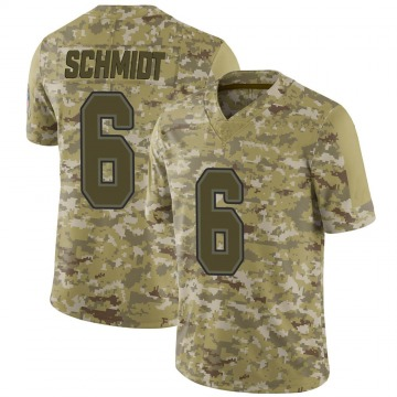 Youth Nike Buffalo Bills Colton Schmidt Camo 2018 Salute to Service Jersey - Limited