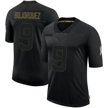 Youth Nike Buffalo Bills Corey Bojorquez Black 2020 Salute To Service Jersey - Limited