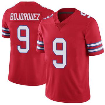 Youth Nike Buffalo Bills Corey Bojorquez Red Color Rush Vapor Untouchable Jersey - Limited