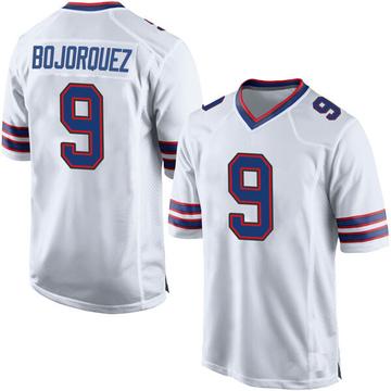 Youth Nike Buffalo Bills Corey Bojorquez White Jersey - Game