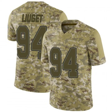 Youth Nike Buffalo Bills Corey Liuget Camo 2018 Salute to Service Jersey - Limited