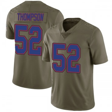 Youth Nike Buffalo Bills Corey Thompson Green 2017 Salute to Service Jersey - Limited