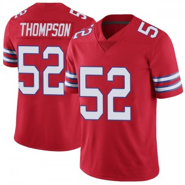 Youth Nike Buffalo Bills Corey Thompson Red Color Rush Vapor Untouchable Jersey - Limited