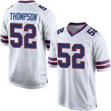 Youth Nike Buffalo Bills Corey Thompson White Jersey - Game