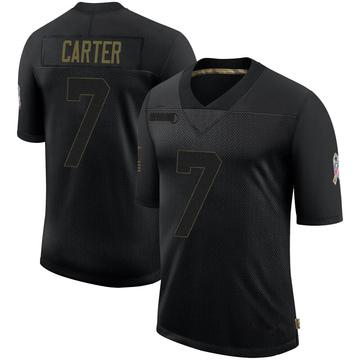 Youth Nike Buffalo Bills Cory Carter Black 2020 Salute To Service Jersey - Limited